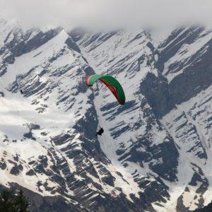 Paragliding in Kullu Valley