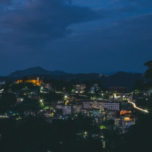 Night View of Shimla